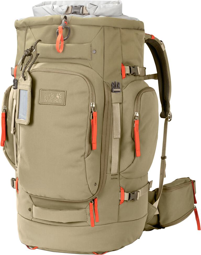 Jack Wolfskin Hobo Queen 55 Backpack Women Beige At